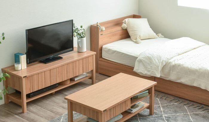 一人暮らしのおしゃれな家具セット【ワンルームにもおすすめ】
